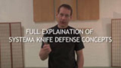 Systema Volume 3: Systema Knife Defense Essentials